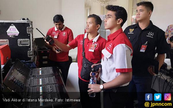 Vadi Akbar Bangga Terlibat dalam Upacara di Istana Merdeka - JPNN.com