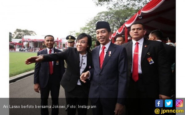 Butet Kertaradjasa, Raffi Ahmad Hingga Ari Lasso Datang ke Istana, Ada Apa? - JPNN.com