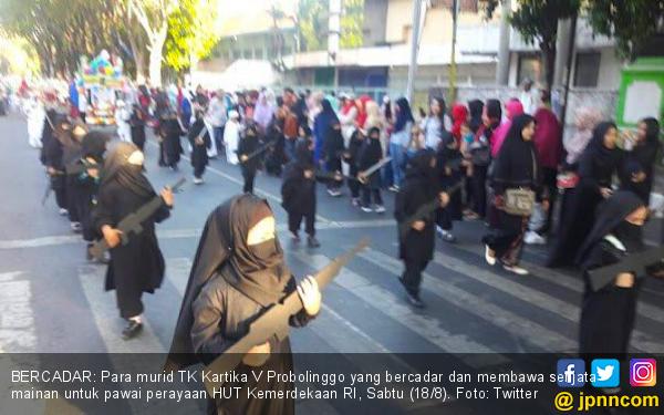 KPAI Dukung Copot Kepsek yang Izinkan Anak PAUD Bercadar - JPNN.com