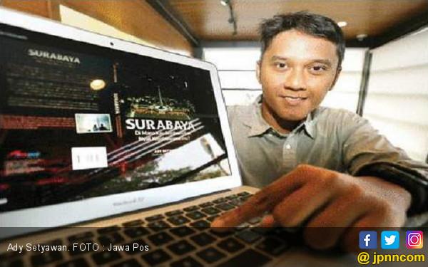 Kisah Ady Setyawan Bukukan Peristiwa Heroik Surabaya - JPNN.COM