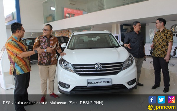 DFSK Glory 580 Sudah Berlari ke Makassar - JPNN.com