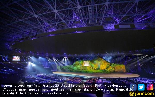 Ada Rahasia di Balik Opening Ceremony Asian Games 2018 - JPNN.COM