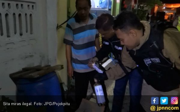 Bos Gudang Miras Tak Kapok Digerebek Polisi - JPNN.COM