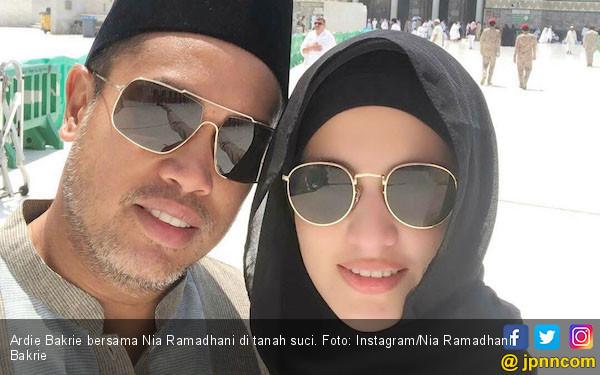 Seperti ini Cara Ardie Bakrie Ungkapkan Rasa Sayang Kepada Nia Ramadhani di Hari Valentine - JPNN.com