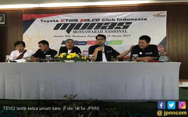 TEVCI Lantik Ketua Baru dengan Semangat Keakraban - JPNN.com