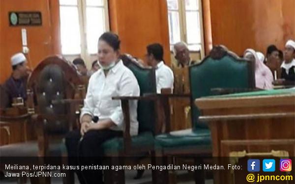 MA Tolak Kasasi Meiliana, PSI Upayakan Pembebasan Bersyarat - JPNN.com
