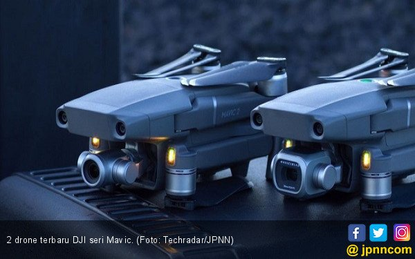 2 Drone Terbaru DJI untuk Penggila Otomotif - JPNN.com