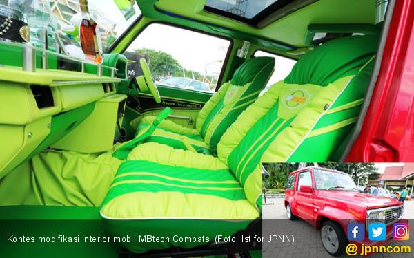 Jahitan MBtech di Interior Daihatsu Feroza Sukses Menggoda - JPNN.com