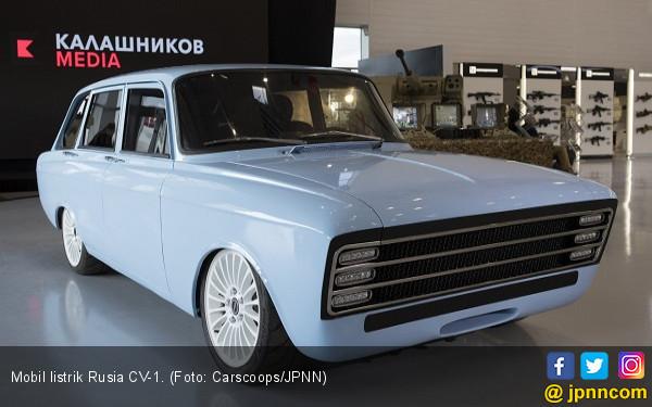 Rusia Mulai Serang Mobil Listrik Amerika Serikat - JPNN.com