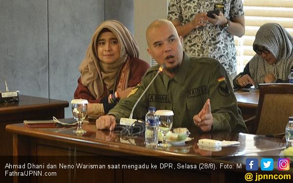 Cukup Kirim Ahmad Dhani dan Neno Sudah Bikin Gempar, Murah! - JPNN.COM
