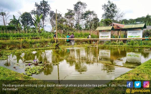 Berkat Embung, Petani Bali Tetap Produktif di Musim Kemarau - JPNN.COM