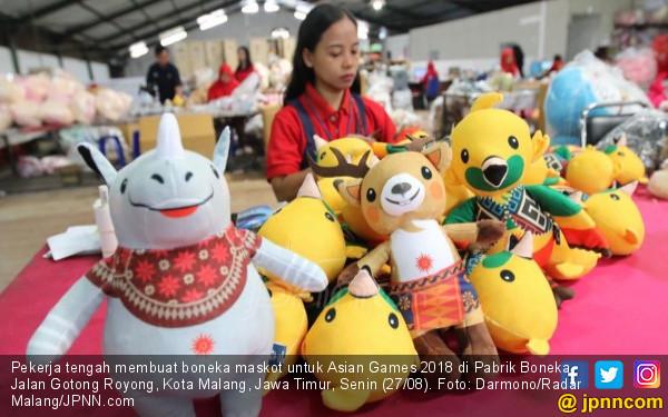 Jumlah Produksi Maskot Asian Games pun Ditambah, Keren! - JPNN.COM