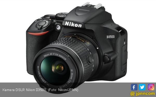 Apa Saja Keunggulan DSLR Nikon D3500 - JPNN.COM