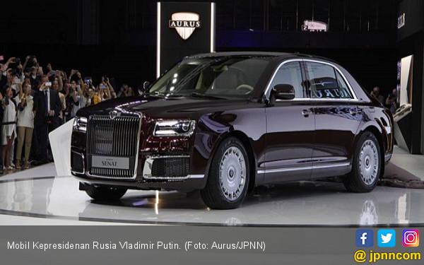 Ternyata Putin Ikut Merancang Mobil Kepresidenan Rusia - JPNN.com