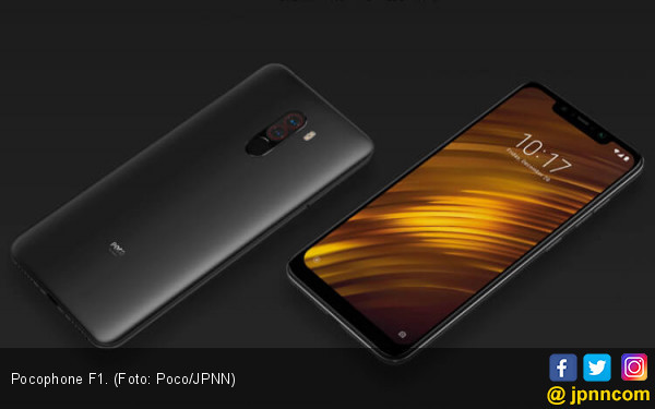 Singkat, Xiaomi Pocophone F1 Terjual Puluhan Ribu Unit - JPNN.COM