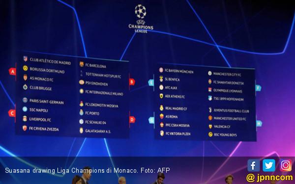 Drawing Liga Champions: Barcelona Masuk Grup Neraka - JPNN.com