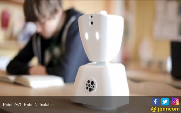 AV1: Robot Mungil Penghilang Sepi - JPNN.COM