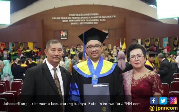 Jabo, Doktor Teknik Kimia UI Termuda Ingin jadi PNS - JPNN.COM