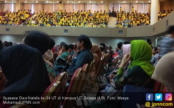 Menristekdikti Targetkan UT punya Sejuta Mahasiswa - JPNN.COM