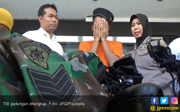 Anggota TNI Gadungan Sering Nongkrong di Warung Kopi - JPNN.com