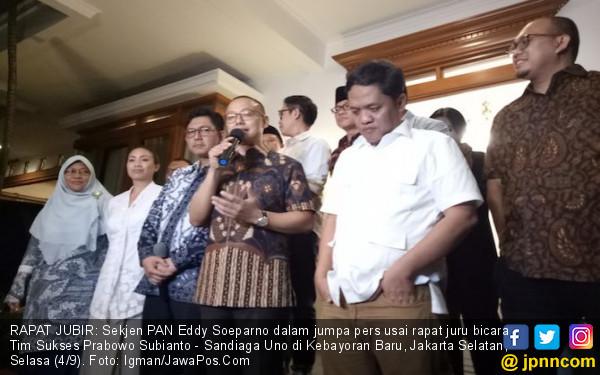 Partai Pengusung Prabowo-Sandi Gelar Rapat Tanpa Demokrat - JPNN.COM