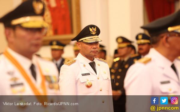 Gubernur Viktor Laiskodat Tak Melarang #2019GantiPresiden - JPNN.com