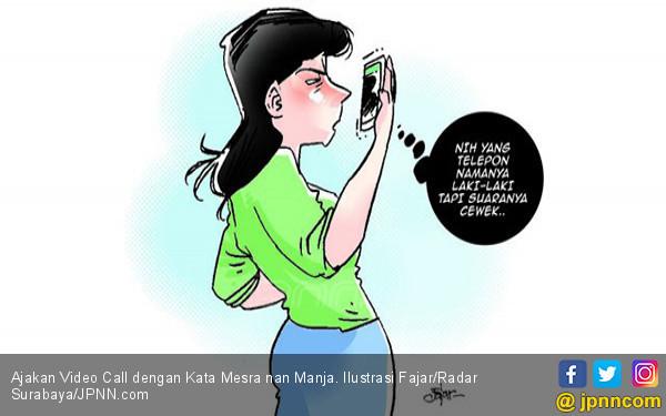 Ajakan Video Call dengan Kata Mesra nan Manja - JPNN.com