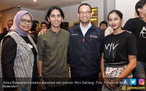 Pujian Anies Bawesdan untuk film Wiro Sableng - JPNN.com