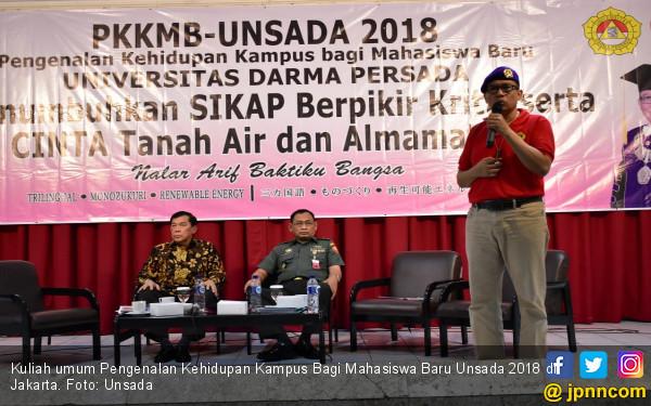 Rektor Unsada: Lembaga Pendidikan Tumbuhkan Karakter Bangsa - JPNN.COM