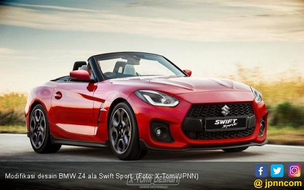 Desain Kawin Silang BMW Z4 dengan Swift Sport - JPNN.COM