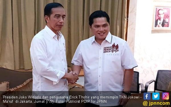 Presiden Jokowi Jamu TKN dan Bersenang-senang di Istana Bogor - JPNN.com