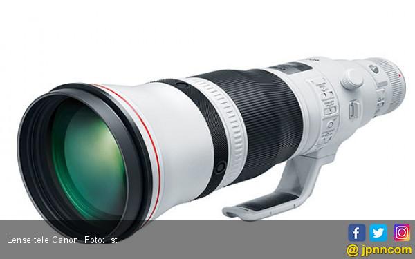 Canon Luncurkan 2 Lensa Tele Ringan, Ini Spesifikasinya - JPNN.COM