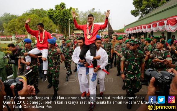 Bonus Spesial dari Panglima TNI untuk Rifki Ardiansyah - JPNN.COM