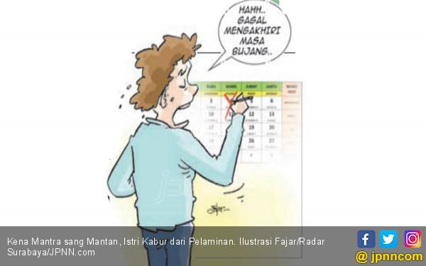 Kena Mantra sang Mantan, Istri Kabur dari Pelaminan - JPNN.COM