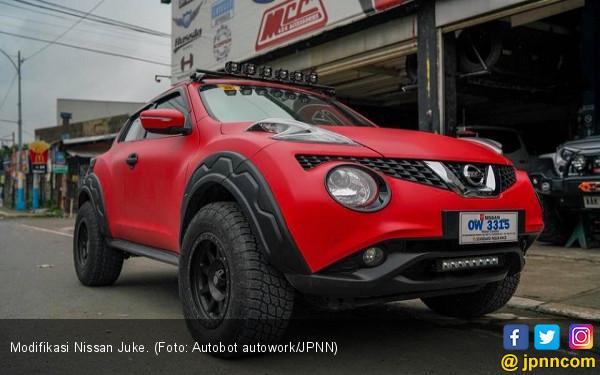 Modifikasi Nissan Juke: Asyik Diajak Bertualang - JPNN.COM
