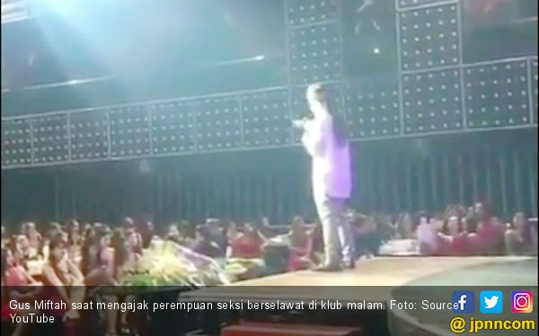 Viral, Ulama Ajak Wanita Seksi Berselawat di Kelab Malam - JPNN.com