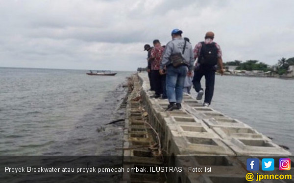 KNPI Kepulauan Seribu Nilai Proyek Breakwater Merusak Karang - JPNN.COM
