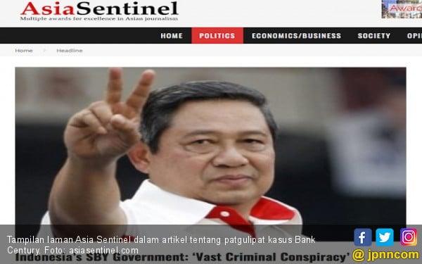 Artikel 'Konspirasi Kejahatan Besar' Era SBY Menghilang