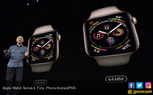 Apple Watch Series 4 Diserang Bug - JPNN.COM
