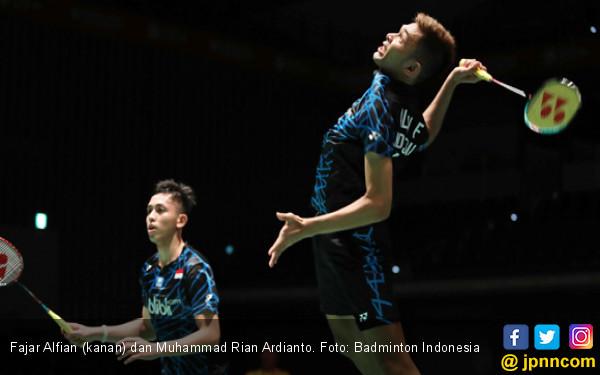 46 Menit! Fajar / Rian Tembus Semifinal Hong Kong Open - JPNN.COM