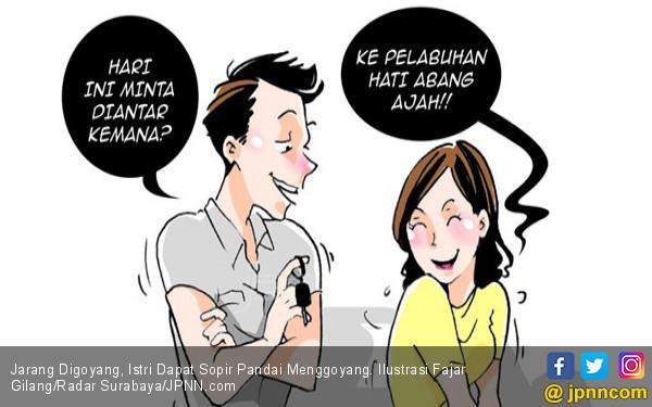 Jarang Digoyang, Istri Dapat Sopir Pandai Menggoyang - JPNN.COM