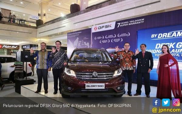 Harga DFSK Glory 580 di Yogyakarta Beda Rp 11 Juta - JPNN.COM