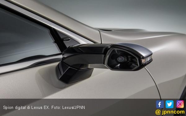 Sedan Lexus Ini Sudah Tidak Pakai Spion dengan Kaca Lagi - JPNN.COM