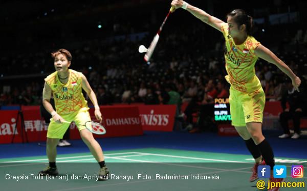 Lunasi Utang, Greysia / Apriyani Tembus Semifinal Japan Open - JPNN.COM