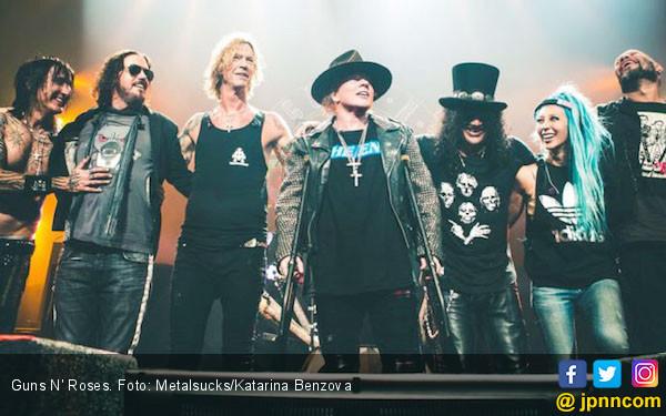 Selamat Hari Raya Guns N' Roses - JPNN.COM