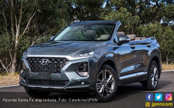 Hyundai Santa Fe Atap Terbuka, Intip Videonya - JPNN.COM