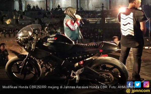 Modifikasi Motor Sport Ini Goda Bikers Sabang Sampai Merauke - JPNN.COM