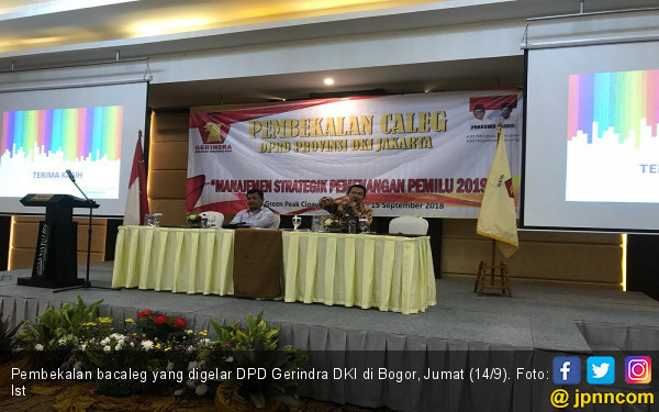 106 Bacaleg Gerindra Digembleng di Bogor - JPNN.COM
