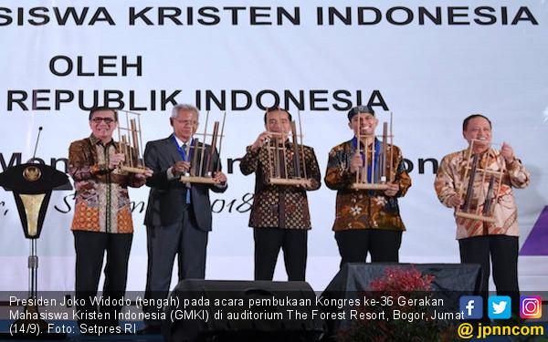 Di Kongres GMKI, Jokowi Menyerukan Persatuan dan Kerukunan - JPNN.COM