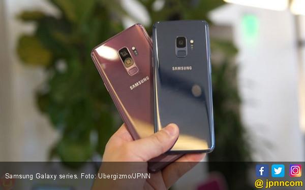 Samsung Uji Galaxy S10 dengan Sensor Sidik Jari Belakang - JPNN.COM